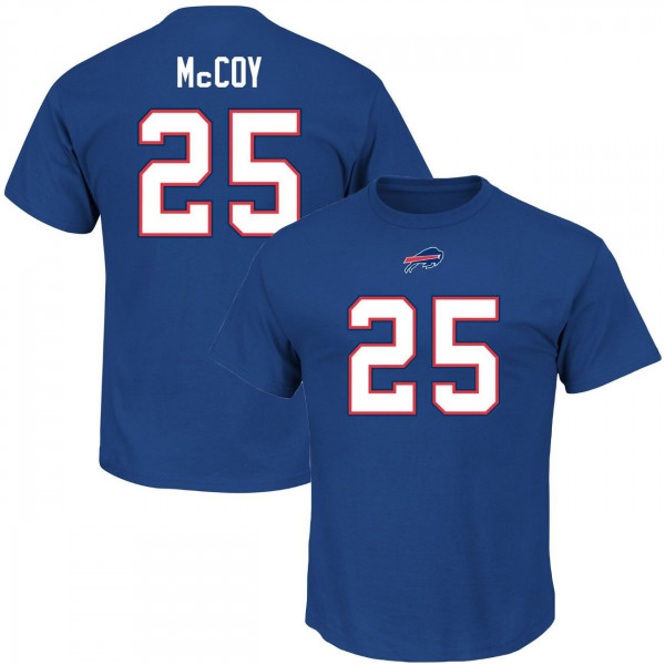 LeSean McCoy #25 Buffalo Bills Player NFL T-Shirt