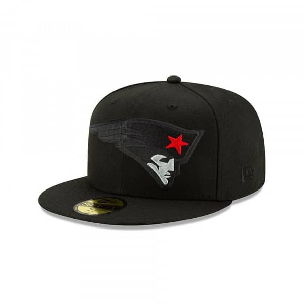 New England Patriots 2.0 Logo Elements New Era 59FIFTY Fitted NFL Cap