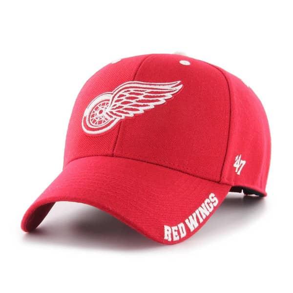 47 Brand Adjustable Cap DEFROST Detroit Red Wings rot Weitere Wintersportarten Fanartikel