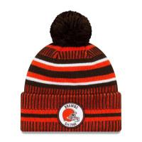 Cleveland Browns 2019 NFL Sideline Sport Knit Wintermütze Home