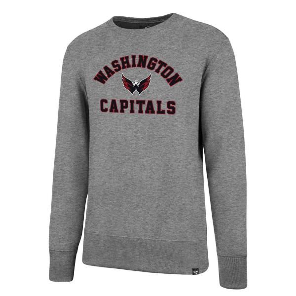 Washington Capitals Varsity Arch Crewneck NHL Sweatshirt