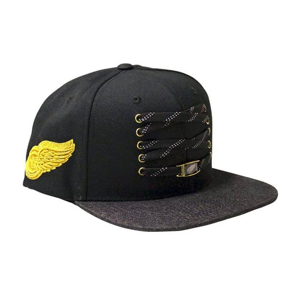 new product 70dd9 03d0d Zephyr Detroit Red Wings Timeless Lacer Snapback NHL Cap   TAASS.com Fan  Shop