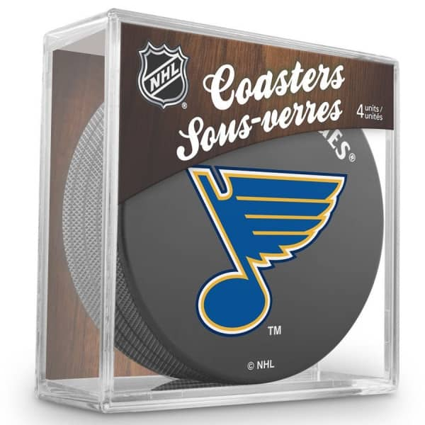 St. Louis Blues NHL Eishockey Puck Untersetzer (4er Set)