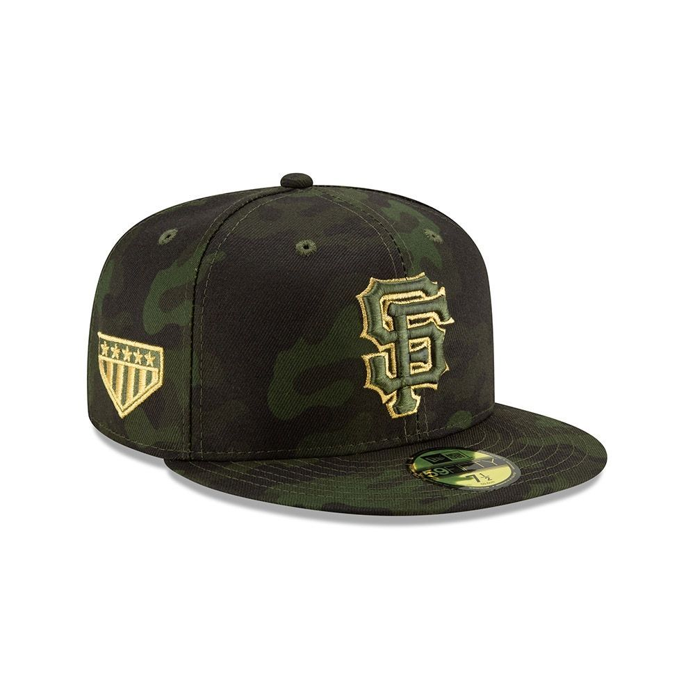 separation shoes e6b41 1402f New Era San Francisco Giants 2019 Armed Forces Day On-Field 59FIFTY Fitted  MLB Cap   TAASS.com Fan Shop