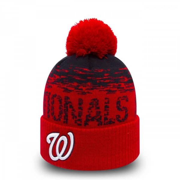 newest 75cd0 faf69 Washington Nationals On-Field Sport MLB Wintermütze