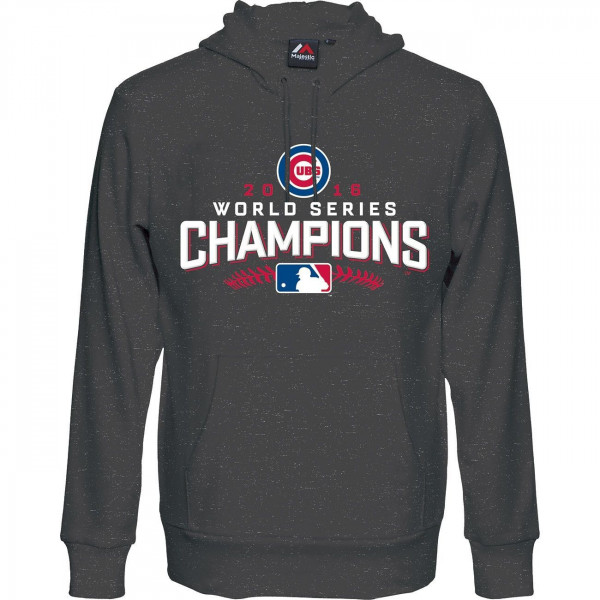 Chicago Cubs 2016 World Series Champions Hooded MLB Pullover