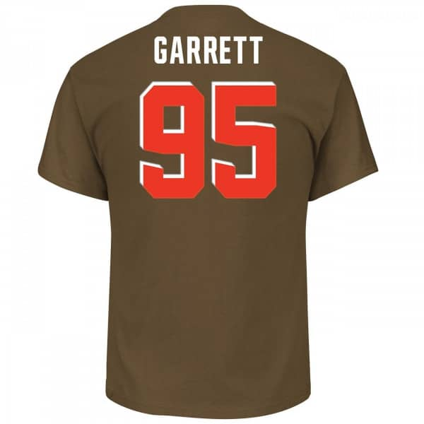 Myles Garrett #95 Cleveland Browns Player NFL T-Shirt