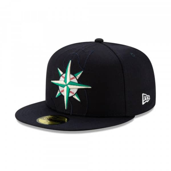 Seattle Mariners Logo Elements New Era 9FIFTY Snapback MLB Cap