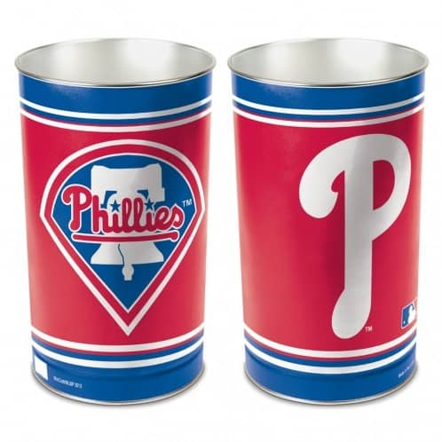Philadelphia Phillies Baseball MLB Papierkorb