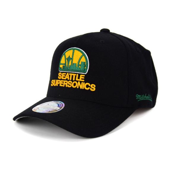 Seattle SuperSonics 110 FlexFit Curved Easy Snapback NBA Cap
