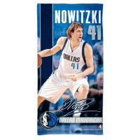 Dirk Nowitzki Dallas Mavericks Player NBA Strandtuch