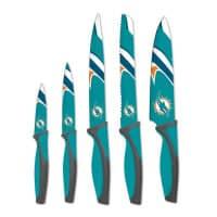 Miami Dolphins NFL 5-teiliges Küchenmesser Set