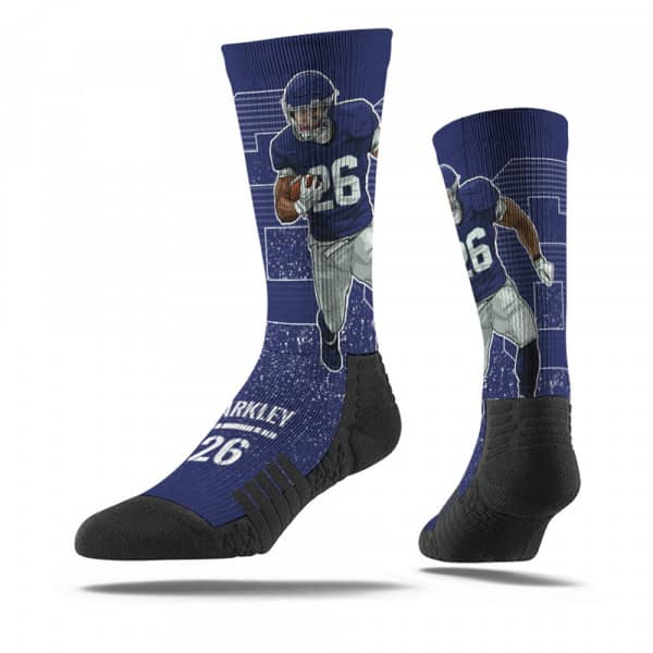 Saquon Barkley #26 New York NFL Socken