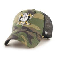 Anaheim Ducks Camo NHL Trucker Cap