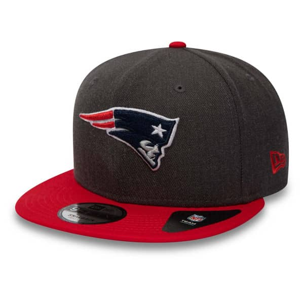 New England Patriots Heather 2-Tone 9FIFTY NFL Snapback Cap