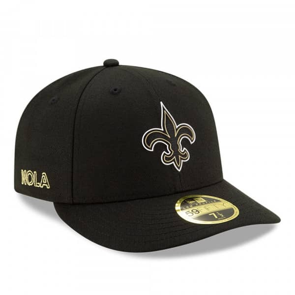 New Orleans Saints Official 2020 NFL Draft New Era Low Profile 59FIFTY Fitted Cap