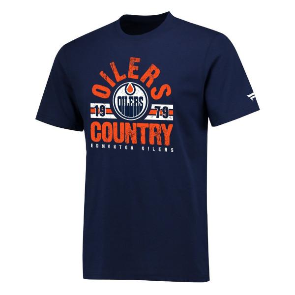 Edmonton Oilers OILERS COUNTRY Hometown NHL T-Shirt