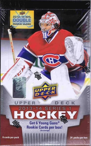 2013/14 Upper Deck Series 1 Hockey Hobby Box NHL