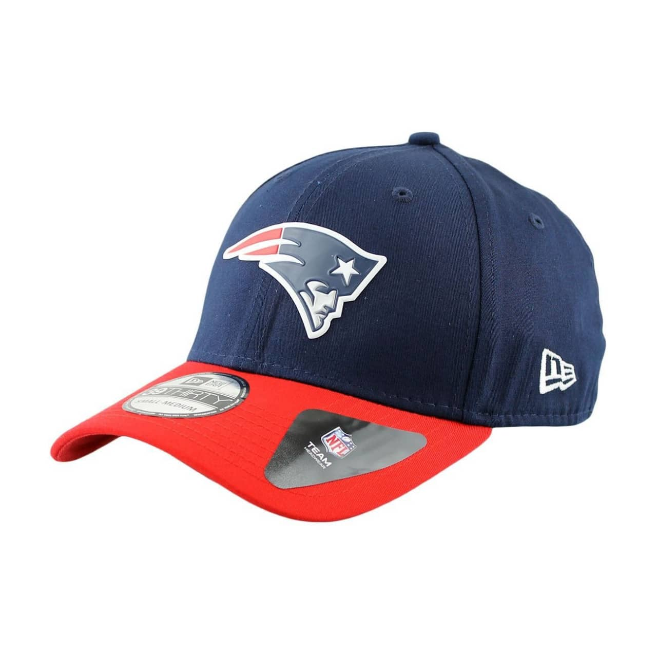 New Era New England Patriots Team Weld 2-Tone Stretch Fit NFL Cap ... c0a4f63169a1