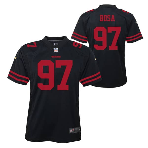 Nick Bosa #97 San Francisco 49ers Nike Game Youth NFL Trikot (KINDER)