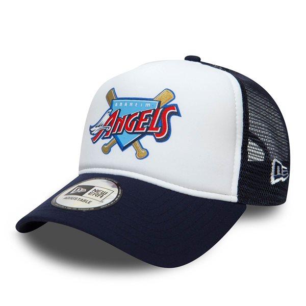 0f523f2f986fb7 New Era Anaheim Angels Coast To Coast Trucker Adjustable MLB Cap |  TAASS.com Fan Shop