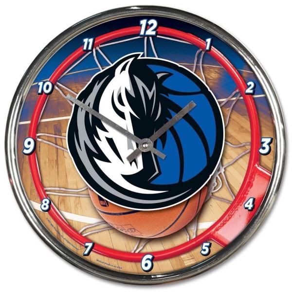 Dallas Mavericks Chrome NBA Wanduhr