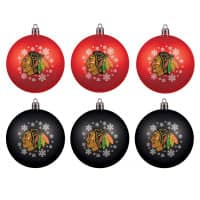 Chicago Blackhawks NHL Weihnachtskugeln Geschenk-Set (6-Teilig)