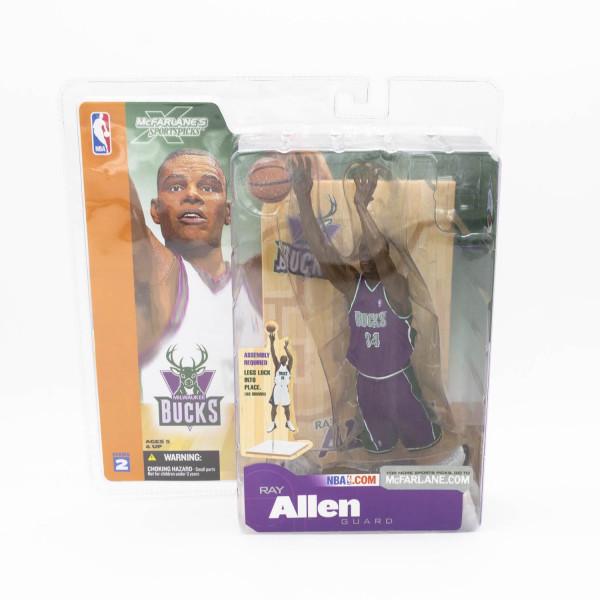 NBA Series 2 Ray Allen Milwaukee Bucks Purple Jersey Variant