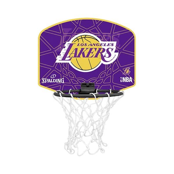 Los Angeles Lakers Micro Mini NBA Basketball Set