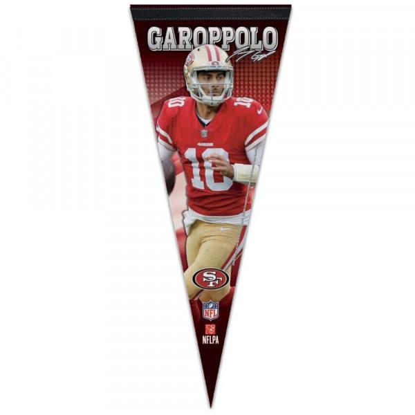 Jimmy Garoppolo San Francisco 49ers NFL Wimpel