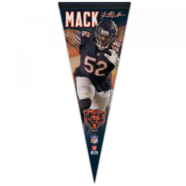 Khalil Mack Chicago Bears NFL Wimpel