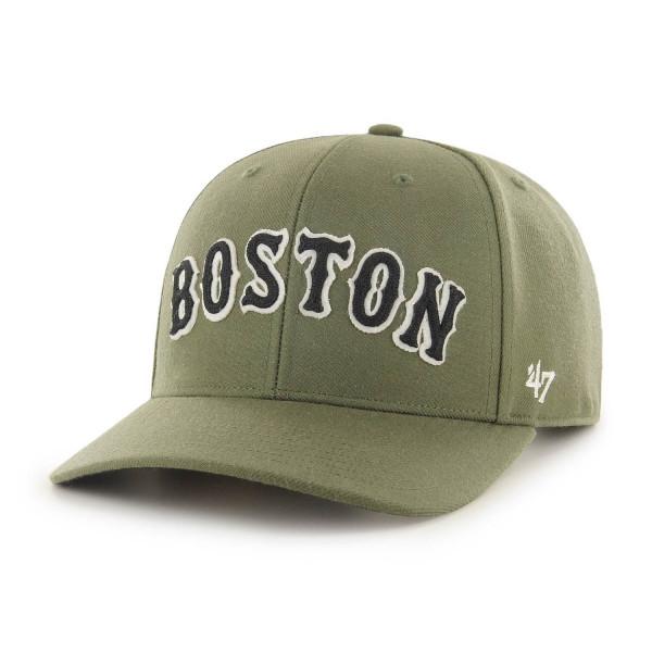 Boston Red Sox Chain Link Script '47 MVP DP Snapback MLB Cap