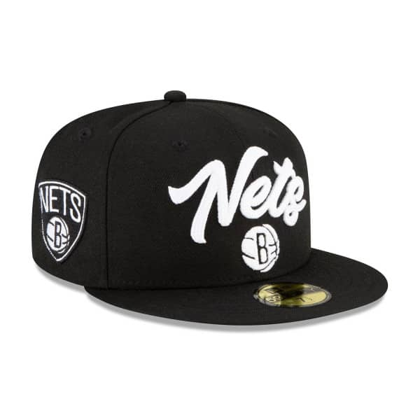 Brooklyn Nets Alternate Authentic 2020 NBA Draft New Era 59FIFTY Fitted Cap