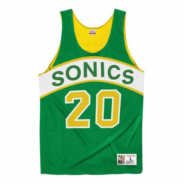 Gary Payton #20 Seattle SuperSonics Mitchell & Ness NBA Reversible Mesh Jersey