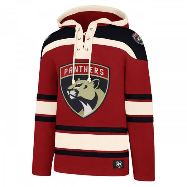 newest 925d6 b3d33 Florida Panthers Lacer Jersey Hoodie NHL Sweatshirt