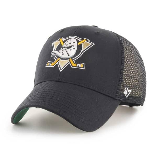 7634b4d030030 47 Brand Anaheim Ducks Branson NHL Trucker Cap