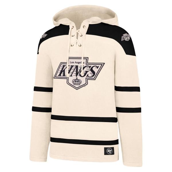 Los Angeles Kings Vintage Lacer Jersey Hoodie NHL Sweatshirt
