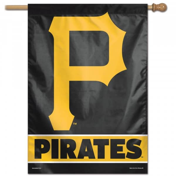 Pittsburgh Pirates Vertical MLB Fahne