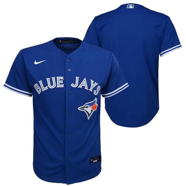 Toronto Blue Jays Youth MLB Replica Alternate Trikot Blau (KINDER)