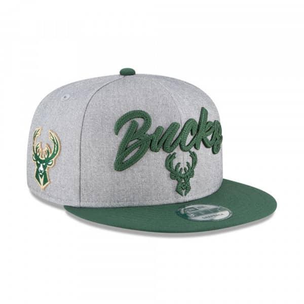 Milwaukee Bucks Authentic On-Stage 2020 NBA Draft New Era 9FIFTY Snapback Cap