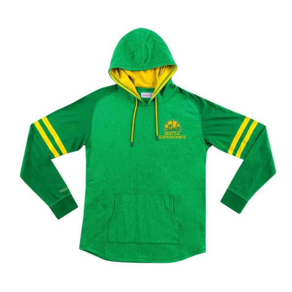 Seattle SuperSonics Lightweight 2.0 Mitchell & Ness Pullover NBA Hoodie