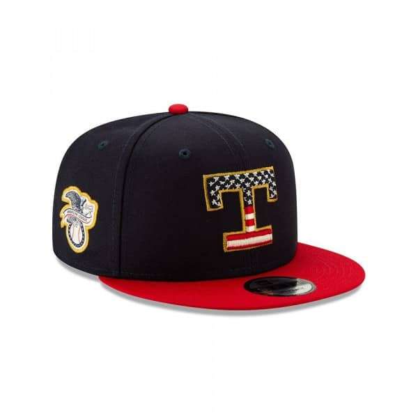 Texas Rangers 4th of July 2019 MLB 9FIFTY Snapback Cap