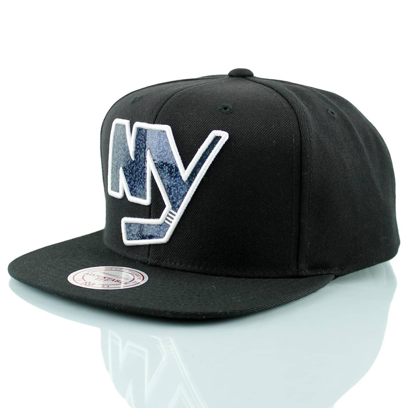 Mitchell   Ness New York Islanders Dark Hologram Snapback NHL Cap ... 1c474f658