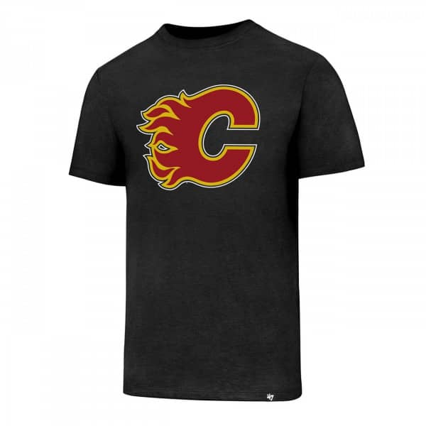 Calgary Flames Club Logo NHL T-Shirt
