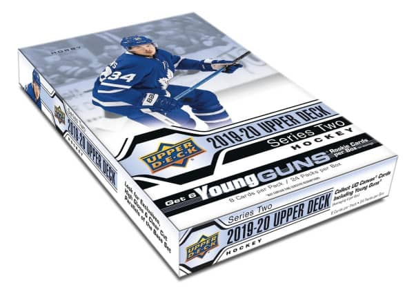 2019/20 Upper Deck Series 2 Hockey Hobby Box NHL