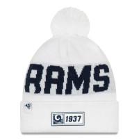 Los Angeles Rams Reverse 2019 NFL Sideline Sport Knit Wintermütze Road
