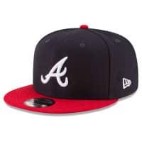 Atlanta Braves Basic Logo MLB Snapback Cap