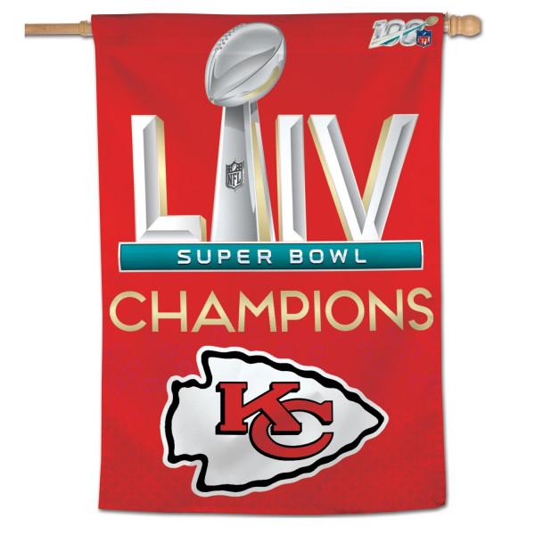 Kansas City Chiefs Super Bowl LIV Champions NFL Fahne