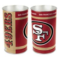 San Francisco 49ers Logo American Football NFL Papierkorb
