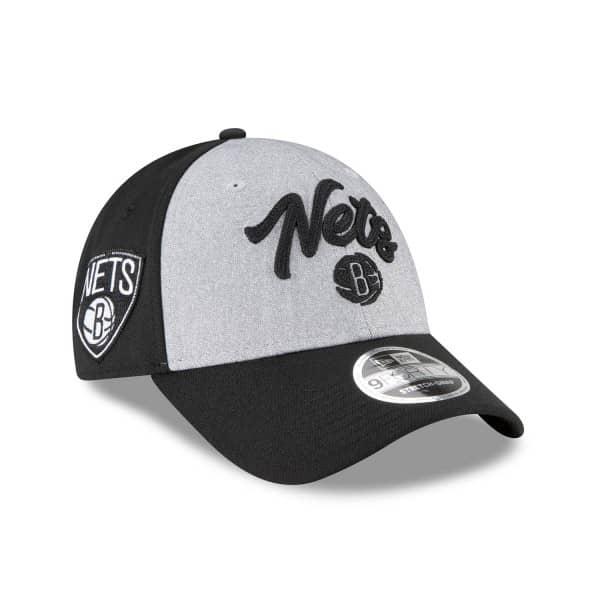Brooklyn Nets Authentic 2020 NBA Draft New Era Stretch-Snap 9FORTY Cap